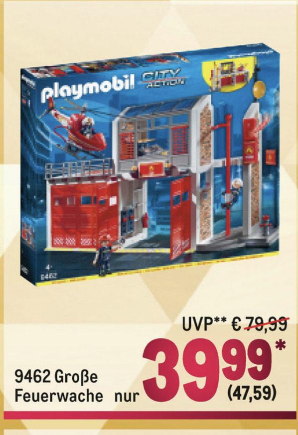 Playmobil Feuerwehrwache 9462 am 5.12 Metro Adventskalender