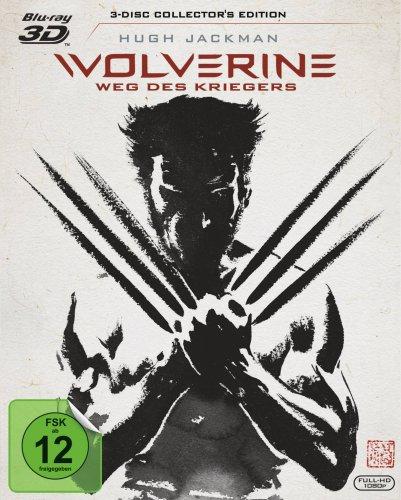 Wolverine: Weg des Kriegers 3D - Collector's Edition inkl. Extended Cut auf 2D Blu-ray (Blu-ray 3D + Blu-ray) für 8,67€ (Amazon Prime)