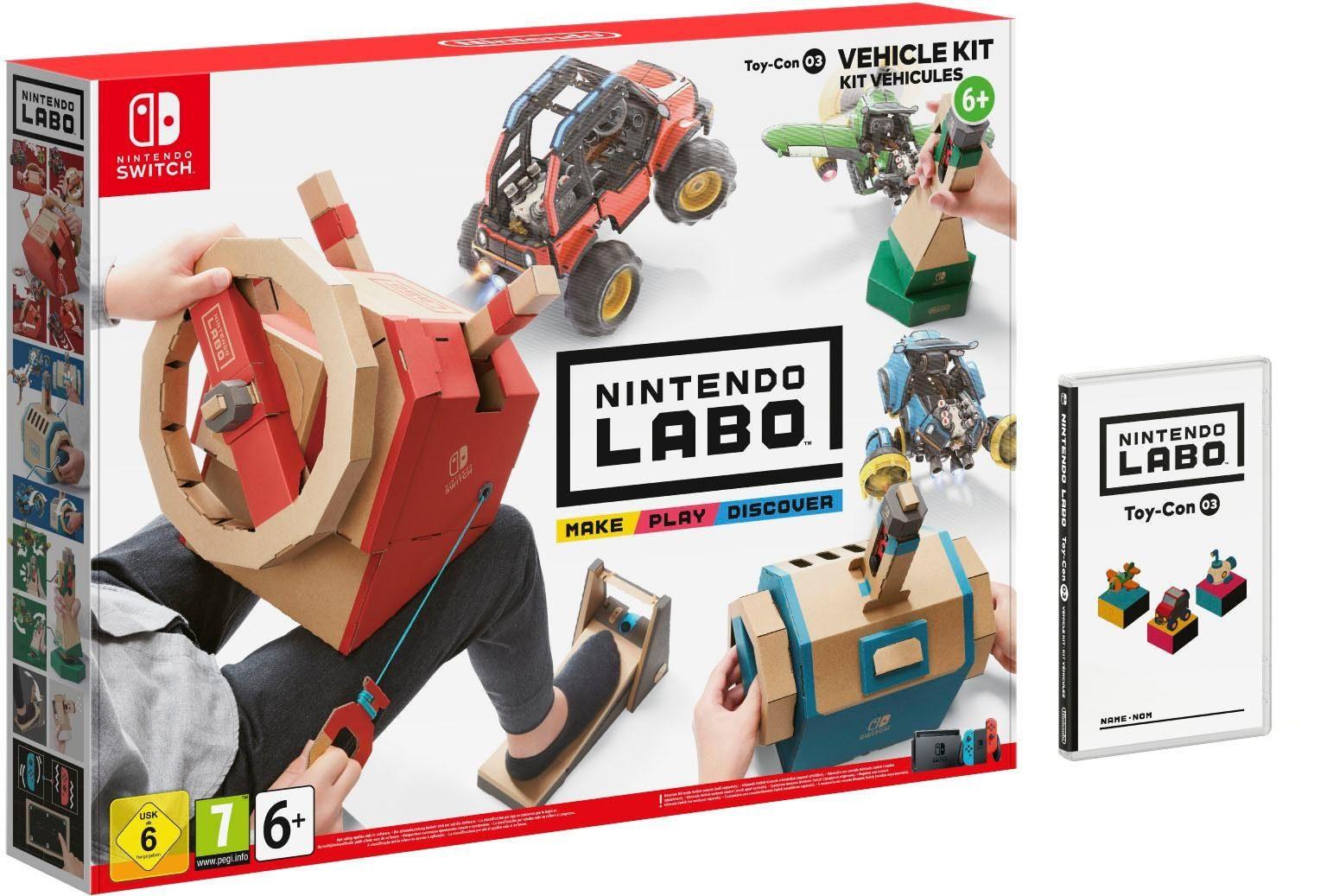 [smyths Offline] Nintendo Labo Toy-Con 03 Fahrzeug-Set ( Switch ) für 9,90€ im Markt