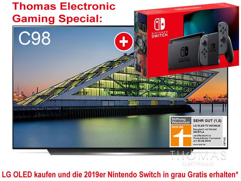 LG 65 C9 + Nintendo Switch