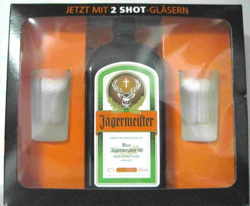 [Lokal Lemgo] Jägermeister inkl. 2 Shotgläser im Marktkauf 9,99€