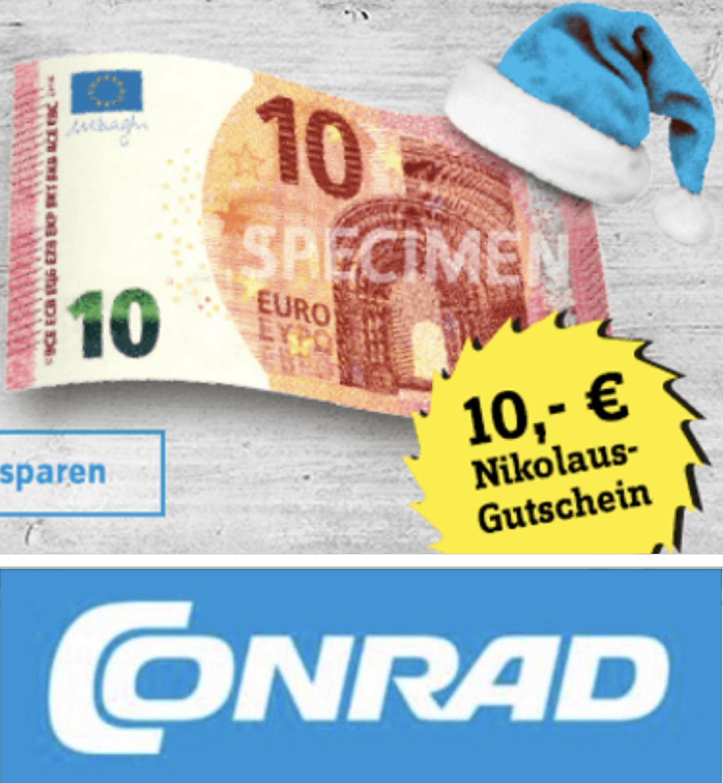 10€ Rabatt ab 49€ im Conrad Onlineshop ab 06.12. bis 08.12. - z.B. Raspberry Pi 4 B 2GB für 42,49€