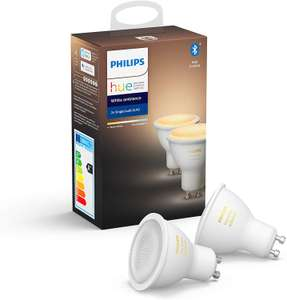 Philips Hue White Ambiance GU10 Spot Doppel Pack (Bluetooth)