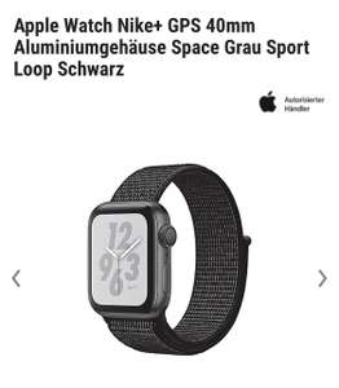 Apple Watch 4 40mm in diversen Farben