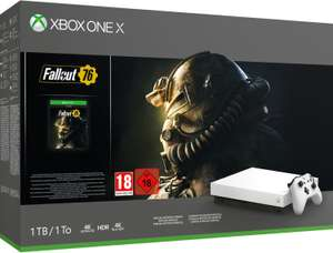 Microsoft Xbox One X 1TB Special Edition inkl. Fallout 76