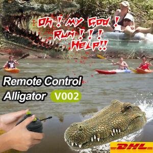 Flytec V002 2.4G Elektro-Rennboot RC Boot / Krokodil mit Fernsteuerung