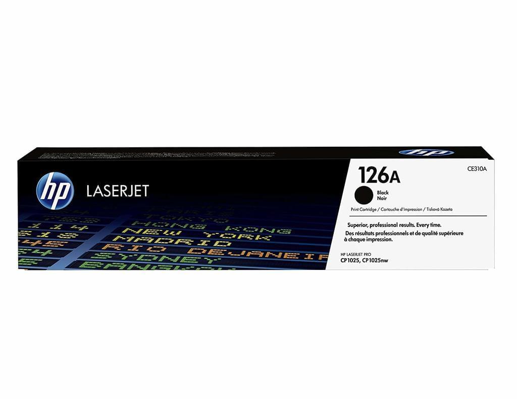 HP 126A Toner schwarz (CE310A) Original | real.de nur Versand | TonerPartner