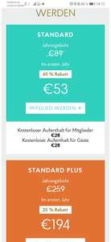 Priority Pass Lounges Flüge / Flughafen 40% Rabatt