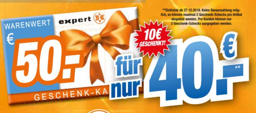 [Regional Expert Octomedia ab 04.12] 50€ Geschenk-Karte für 40,-€ *Abnahme auf 2 Stück pro Kunden begrenzt*