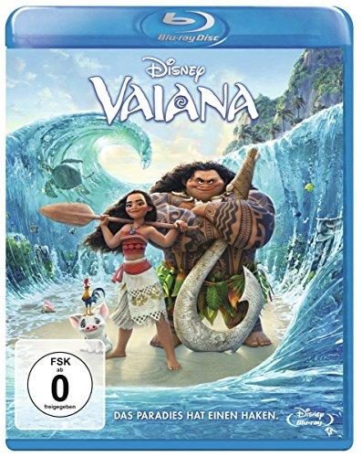 Vaiana - Das Paradies hat einen Haken (Blu-ray) für 6,22€ (Amazon Prime & Real)