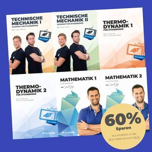 Blue Week bei STUDYHELP 60% Rabatt z.B auf UNI Package 49,99€ statt 129.94€