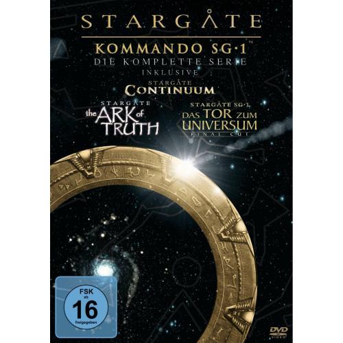 Stargate Kommando SG-1, Complete Box (61 Discs, + Bonus-DVD)   74,27 €