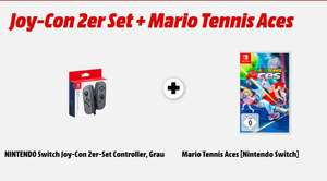 [Mediamarkt] Joy-Con 2er Set + Mario Tennis Aces (Nintendo Switch) für 89,-€
