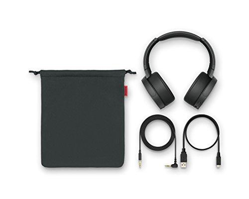 Sony MDR-XB950N1 kabelloser Kopfhörer - Noise Cancelling, NFC, Bluetooth, faltbar - schwarz