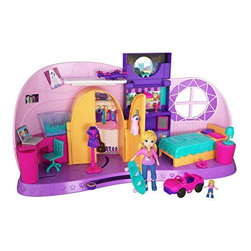 Amazon - Polly Pocket FRY98 - Und… Klein Zimmer Spielset mit Polly Puppe und Zubehör, ab 4 Jahren 14,99 Euro