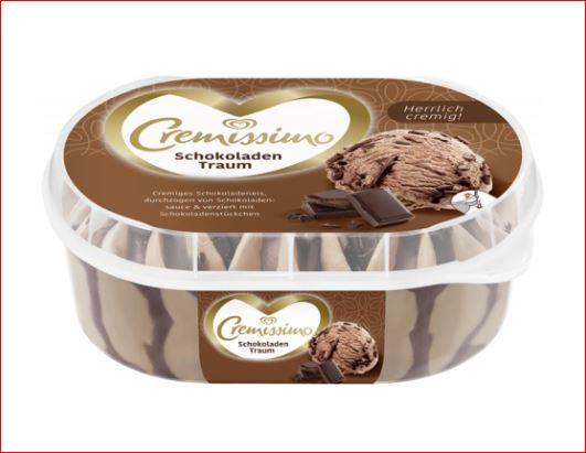 Langnese Cremissimo Eis, verschiedene Sorten, 450/900 ml, der Becher für 1,29 Euro [Jawoll]