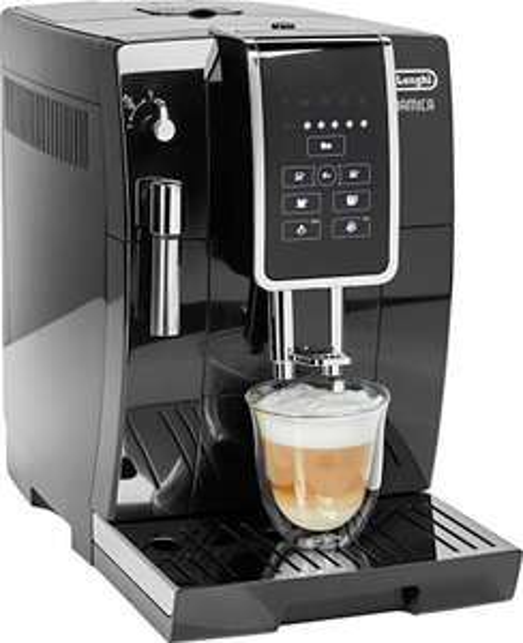 DeLonghi Kaffeevollautomat Dinamica ECAM 358.15. in schwarz oder rot
