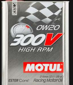 MOTUL 300V HIGH RPM 0W20 Synthetic ESTER Core Hochleistungs Öl 2L 104239