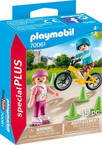 [AMAZON Prime Plus Produkt] Playmobil Special Plus Kinder m. Skates u. BMX