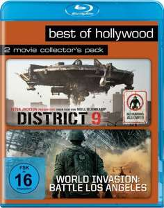 District 9 + World Invasion: Battle Los Angeles Best of Hollywood Collection (2 Disc Blu-ray) für 5,96€ (Amazon Prime)