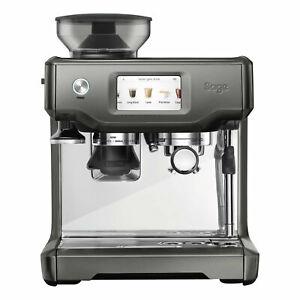 Sage Espresso Maschine The Barista Touch Smoked Hickory für 749 Euro [Ebay]