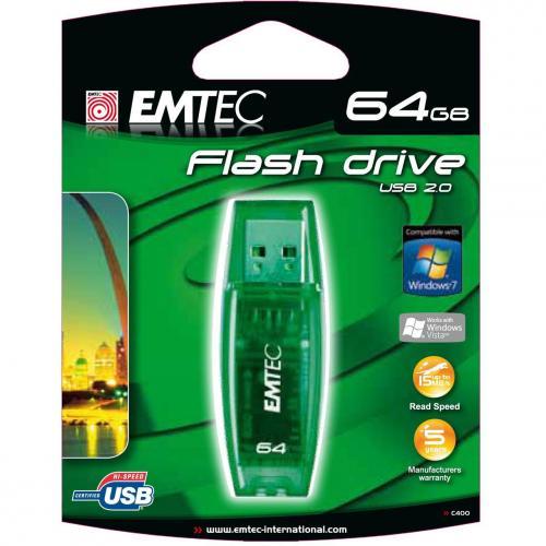 MM Adventskalender // Emtec 64 GB USB 2.0 Stick // mydealz kroko grün // 40% billiger