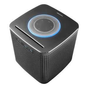 MEDION P64430 WLAN Mikro-Audio-System mit Amazon Alexa, 2 x 15 W RMS, Bluetooth4.2, CD/MP3, Multiroom-Funktion, Musikstreaming