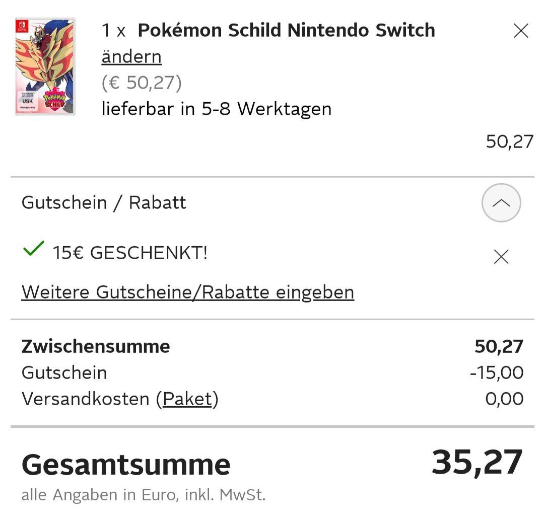 Diverse Nintendo Switch Spiele unter 40€ mit Neukundenrabatt bei Otto