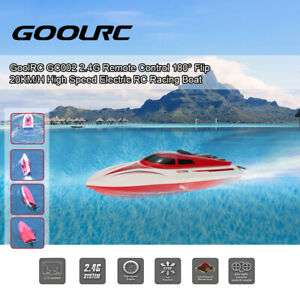 GoolRC GC002 2,4GHz 20km/h High Speed Electric RC Racing Boat Rennboot Boot DE