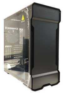 Phanteks Enthoo Exolv X Midi-Tower, RGB, PC Gehäuse mit Tempered Glass, Schwarz