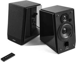 Edifier R1800BT: 2.0 Lautsprecher-System (70W RMS, Bluetooth, Cinch / Klinke, 85dB SNR, 6 Ohm)