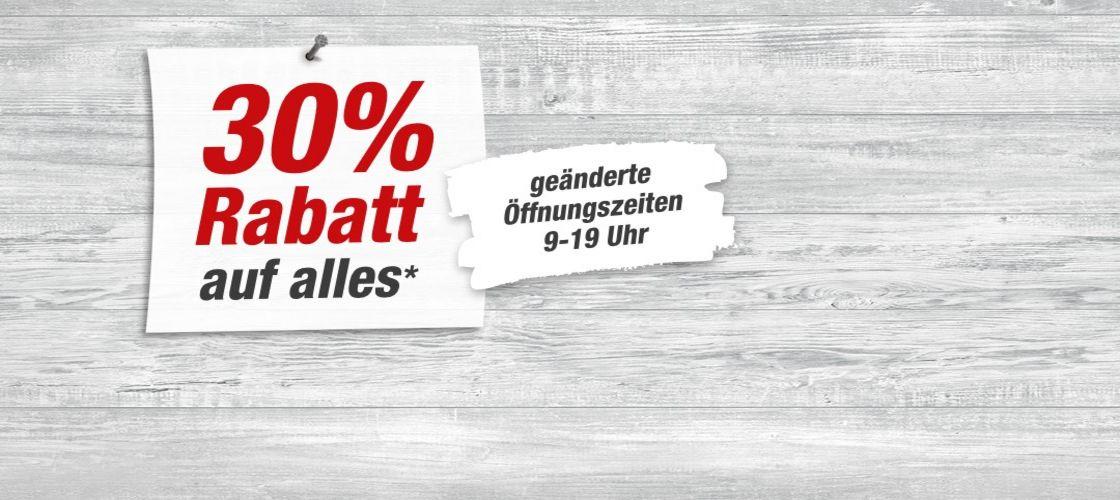 [Lokal - Neckarsulm] Toom 30% auf so gut wie alles
