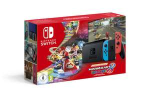 Nintendo Switch + Mario Kart 8 Deluxe Digital