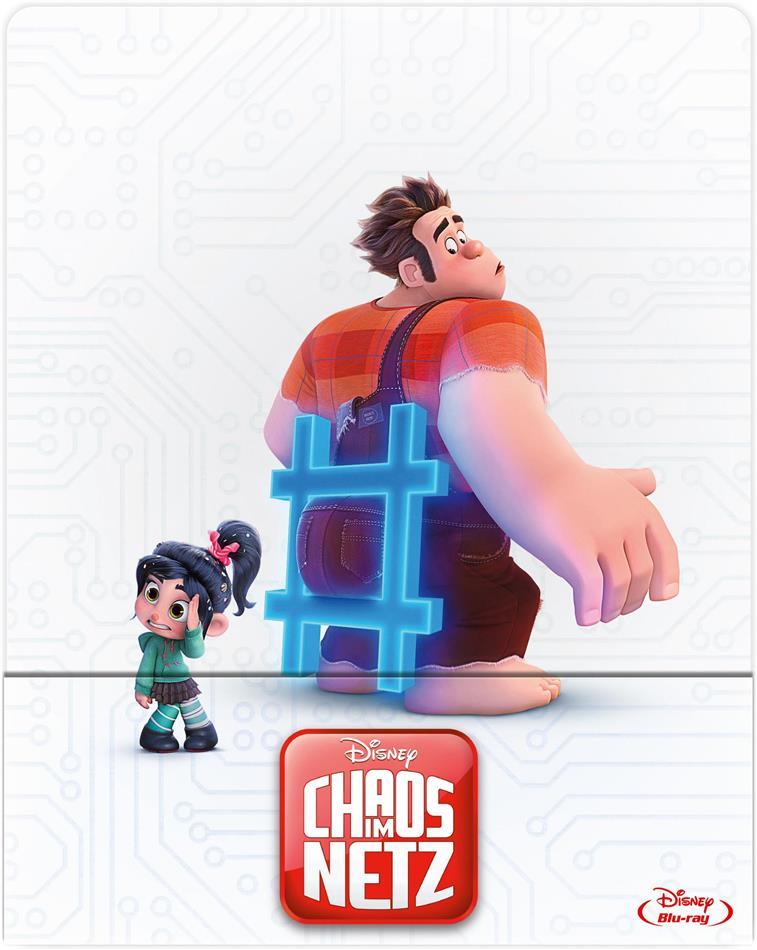 Chaos im Netz - Ralph reichts 2 Limited Edition Steelbook (Blu-ray) für 13,49€ (Cede)