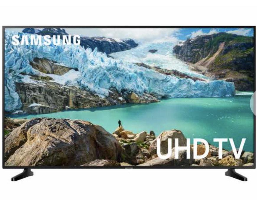 Samsung RU7099 108 cm (43 Zoll) LED Fernseher (Ultra HD, HDR, Triple Tuner, Smart TV)