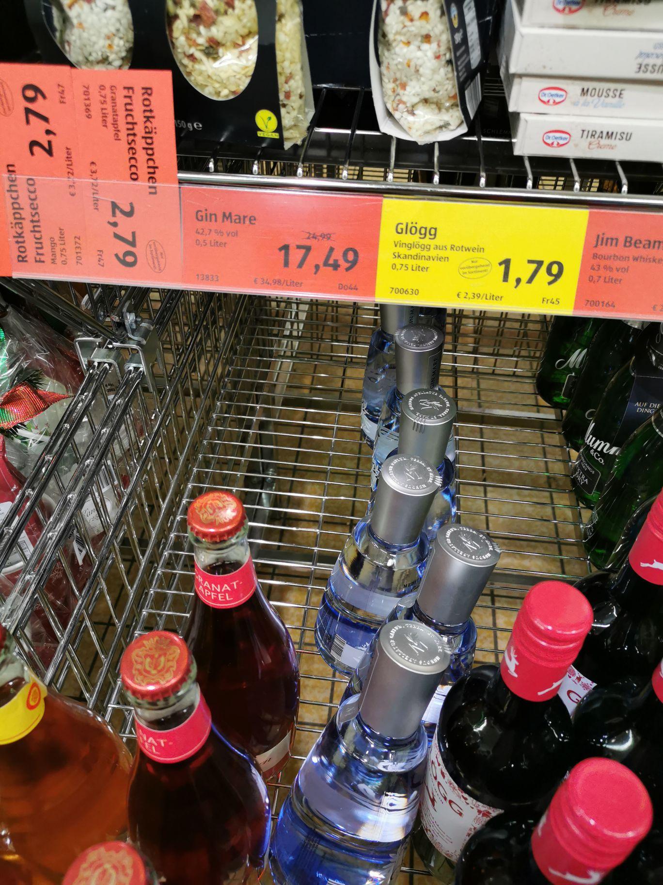 [lokal ALDI Süd] Gin Mare 0,5 l