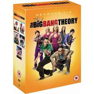 The Big Bang Theory Staffel 1-5 DVD, für 37,49 € @ PLAY