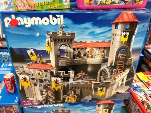 [LOKAL] Playmobil Große Löwenritterburg 4865 @ Real München Boschetsriederstr. für 79,00 EUR