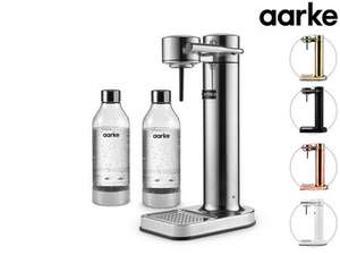 Aarke Carbonator II - Wassersprudler inkl. 2 Flaschen / zwei Flaschen extra für 19,99€ statt 42€