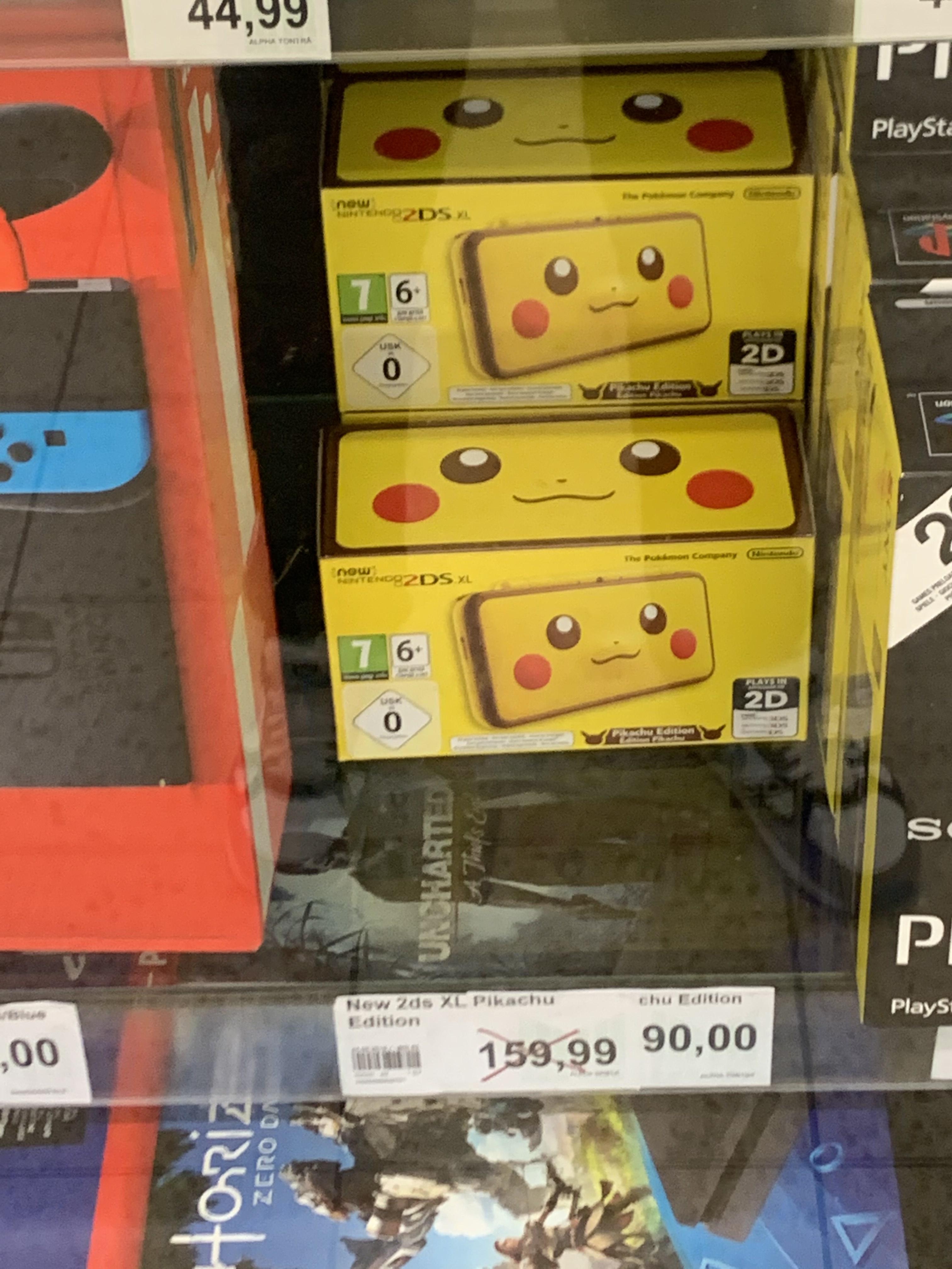 Nintendo 2DS XL (Pikachu) *LOKAL Ibbenbüren*