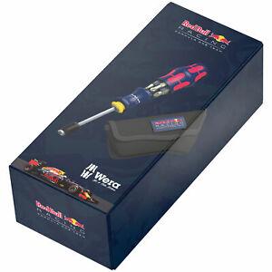 Wera Red Bull Racing Sonderedition Kraftform Kompakt 20 RBR Edelstahl, 7-teilig [Ebay]