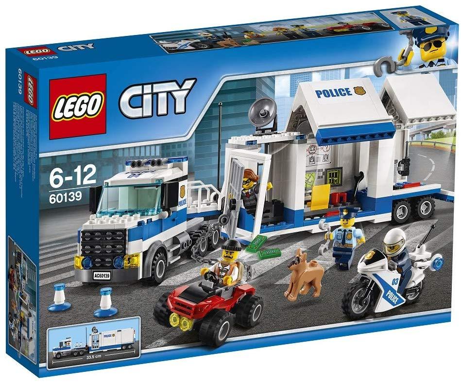 [Amazon Prime] LEGO City Polizei 60139 - Mobile Einsatzzentrale, Konstruktionsspielzeug oder LEGO City 60138 Rasante Verfolgungsjagd