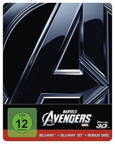 [LOKAL Dresden]: Marvel's The Avengers 3D Steelbook 15€ im Hugendubel