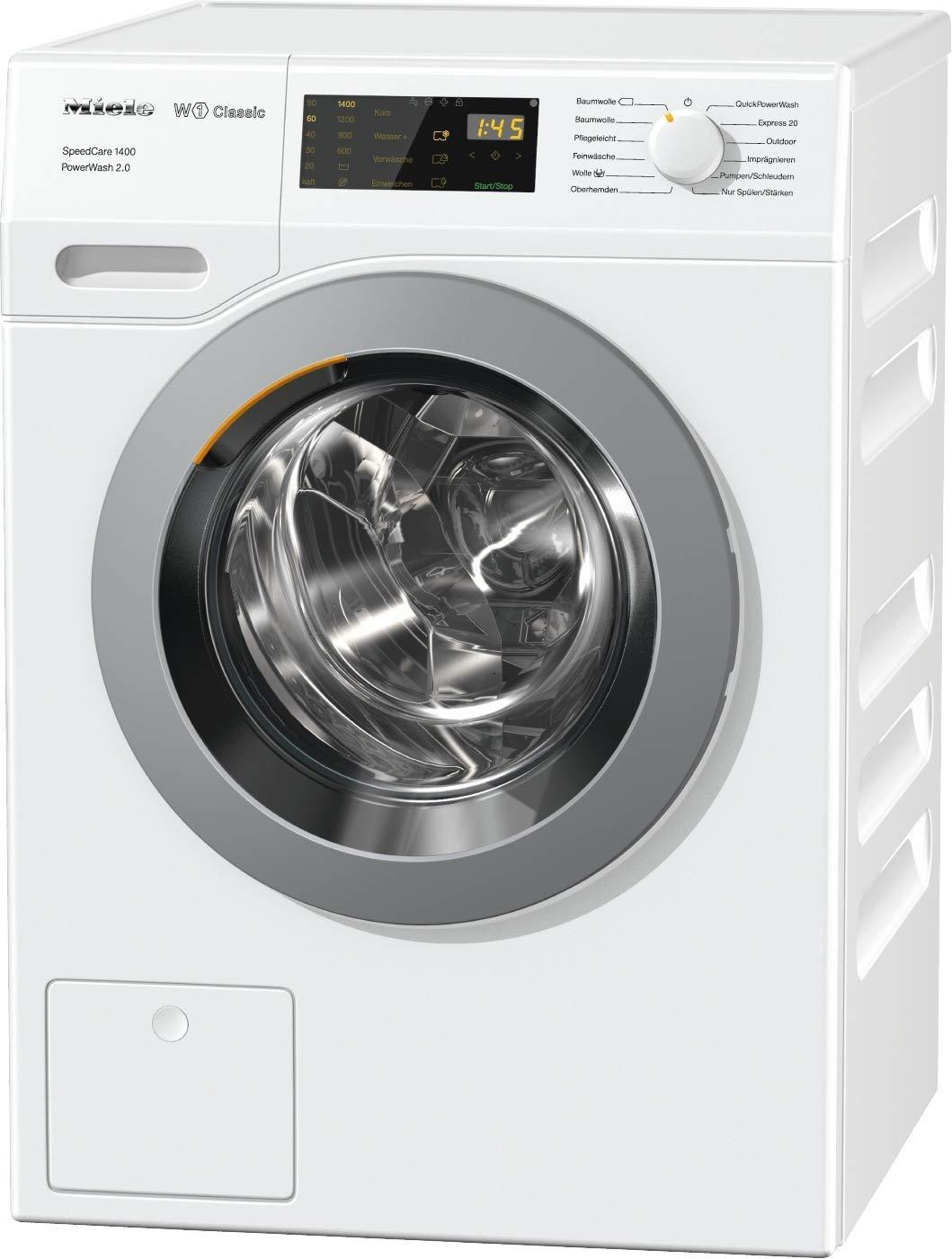 [Amazon Prime] Miele WDB 330 WPS SpeedCare Frontlader Waschmaschine / mit 7 kg Schontrommel, schonendes Waschen, weiß [Energieklasse A+++]