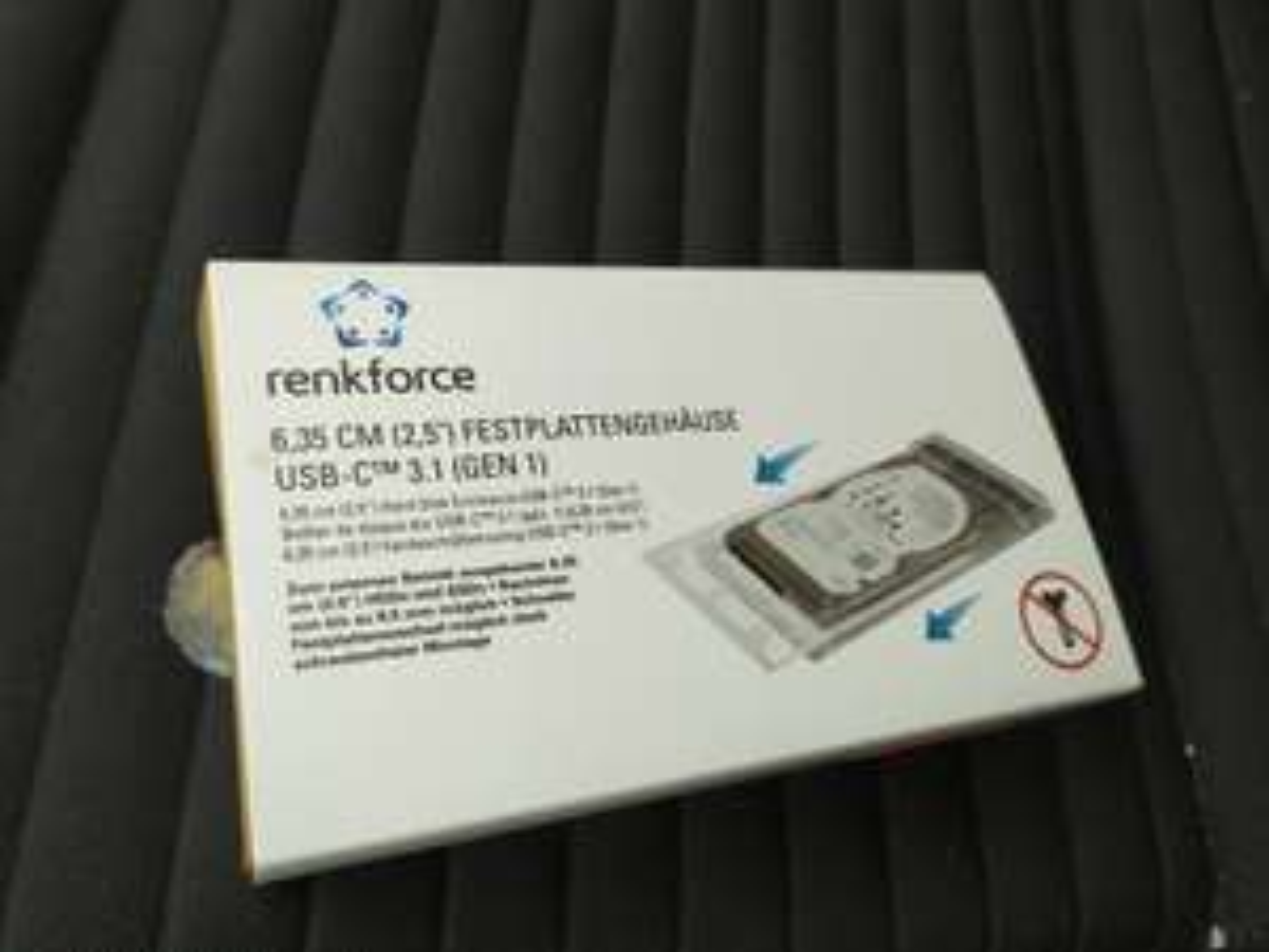 """[Nürnberg] USB-C 3.1 2,5"""" Gehäuse Renkforce"""