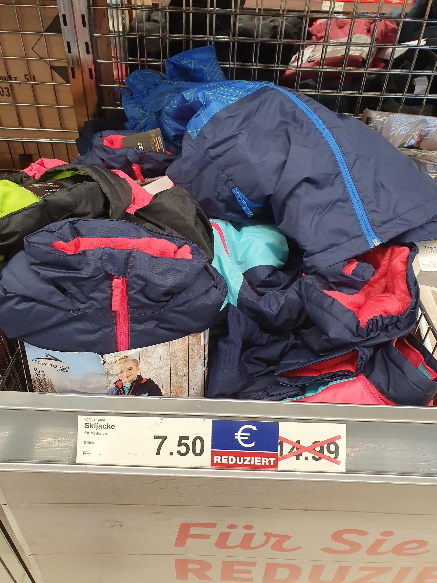 LOKAL HH ALDI Nord 50% auf Kinder Skijacke/ D-Skihose/ H-Skijacke