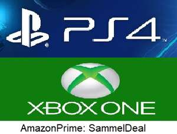 Amazon Prime SammelDeal: Playstation 4 & Xbox One Spiele mit Rabattaktion