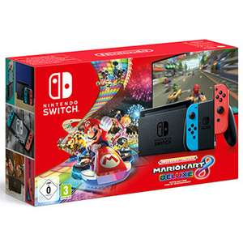 [Schweiz] Nintendo Switch Neon + Mario Kart 8 Deluxe Download Code