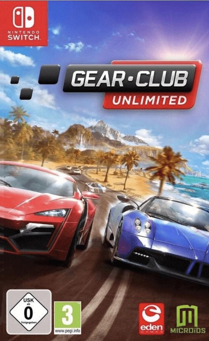 Gear Club für die Switch im Nintendo E-Shop