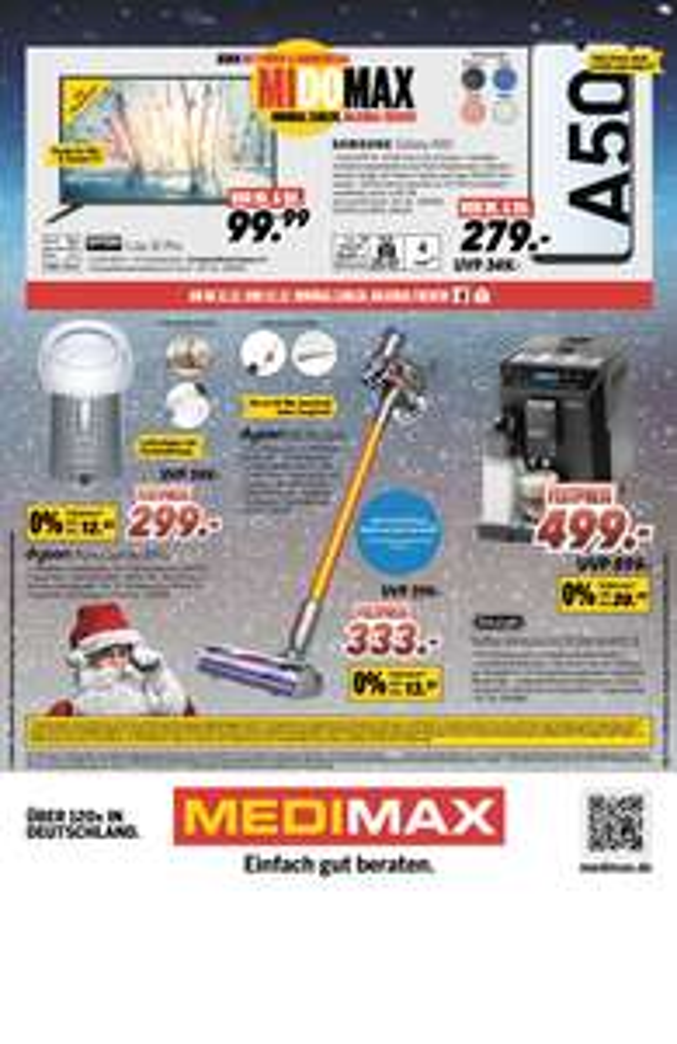 [LOKAL METTMANN] MEDIMAX DYON LIVE 32 Pro, LED-Fernseher, Triple Tuner, HD Ready